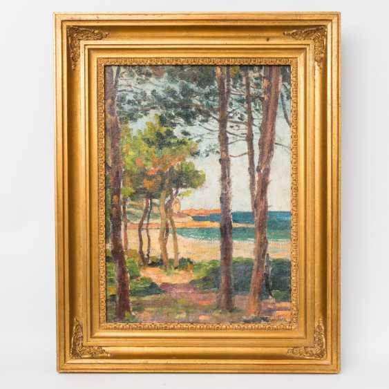"CHARRIER, M. (painter-1. Half of the 20. Century, France), ""coast"", - photo 3"