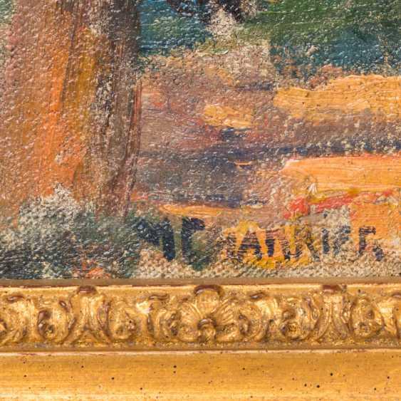 "CHARRIER, M. (painter-1. Half of the 20. Century, France), ""coast"", - photo 4"