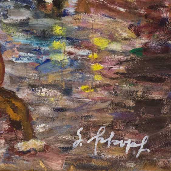 "SCHOPF, GUSTAV GEORG (1899-1986), ""circus rider in the village"" - photo 3"