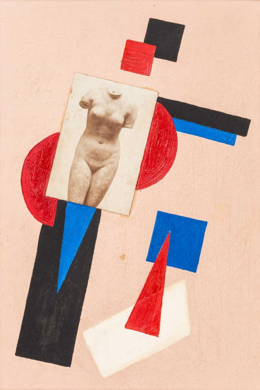 SUPREMATIST artists 20. Century, Russia, Collage, - photo 1