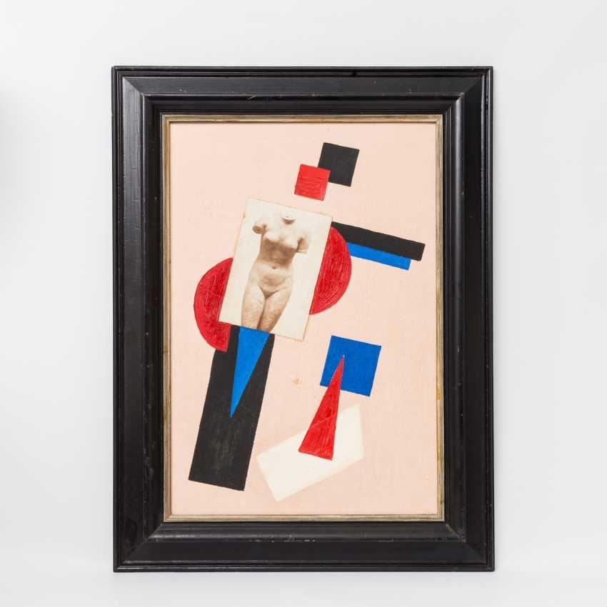 SUPREMATIST artists 20. Century, Russia, Collage, - photo 2