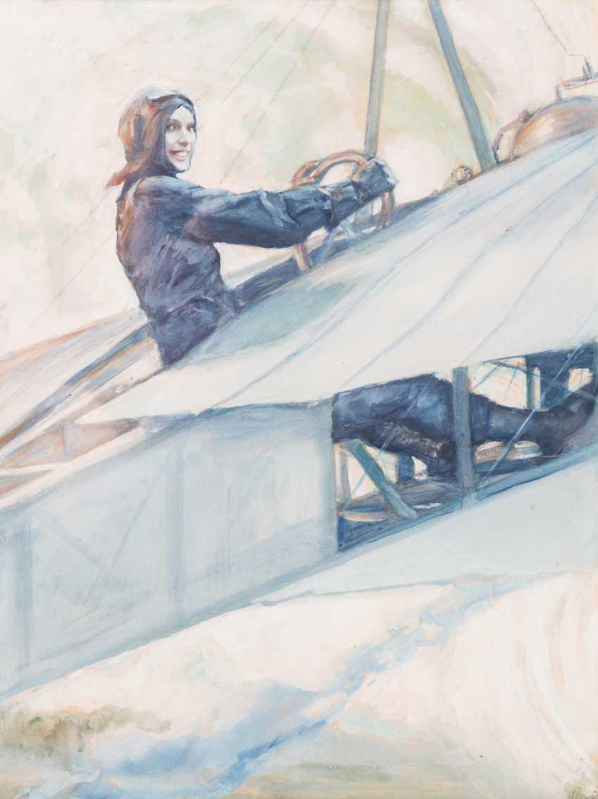 "RIETH, PAUL (Pößneck 1871-1925 Munich), ""pilot"", - photo 1"
