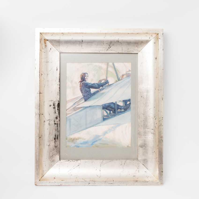 "RIETH, PAUL (Pößneck 1871-1925 Munich), ""pilot"", - photo 2"