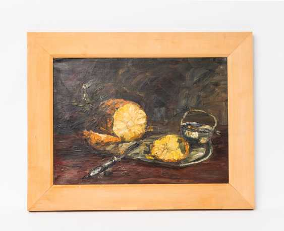 "PAINTER/20. Century, ""still life with pineapple"", - photo 2"