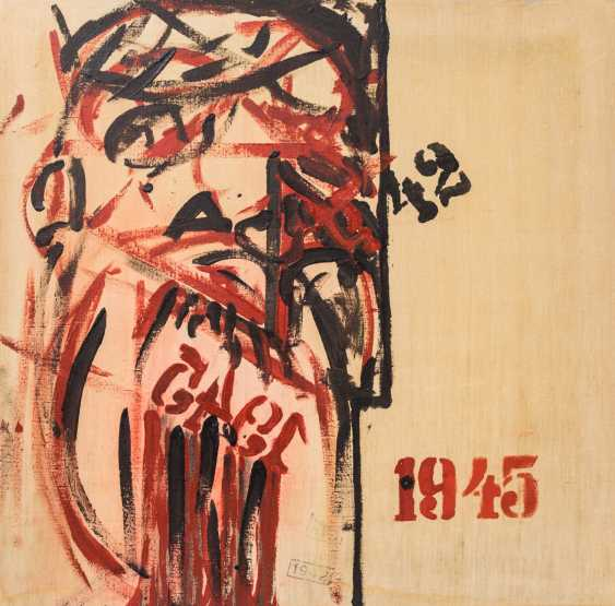 """PAINTER/20. Century, probably in Russia, """"1945"""", - photo 1"""