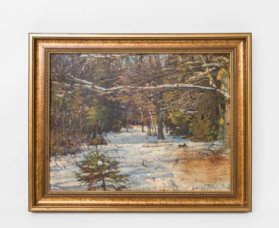 "MRZYGLOD, VINCENT LUCAS (Great-Patschin 1884-1952 Nysa), ""winter forest"", - photo 2"