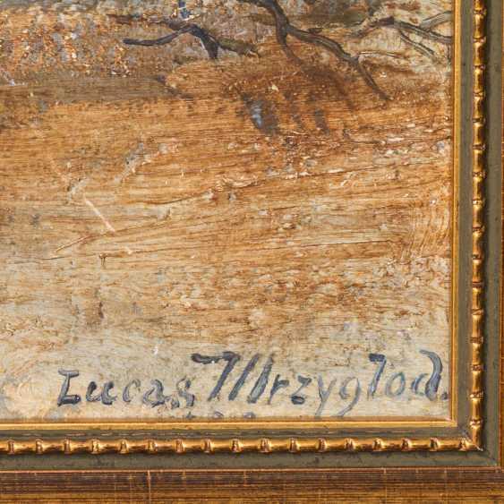 "MRZYGLOD, VINCENT LUCAS (Great-Patschin 1884-1952 Nysa), ""winter forest"", - photo 3"
