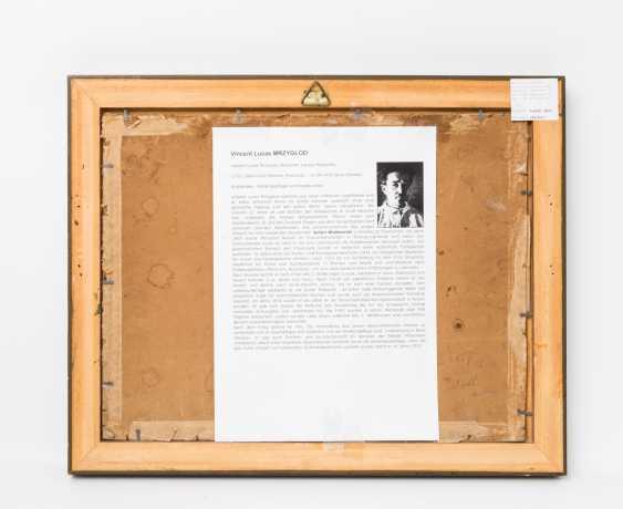 "MRZYGLOD, VINCENT LUCAS (Great-Patschin 1884-1952 Nysa), ""winter forest"", - photo 4"