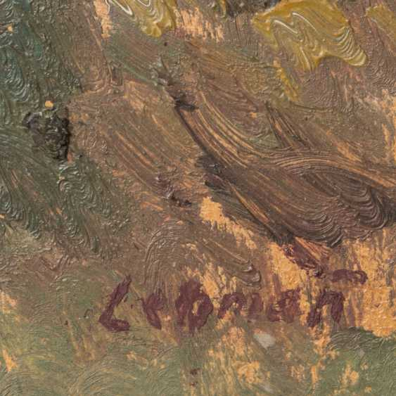LEHMANN, ALFRED (1899-1979): view in a dense forest, 20. Century, - photo 3