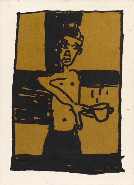 Untitled (the Small crucifixion with tea) - photo 1