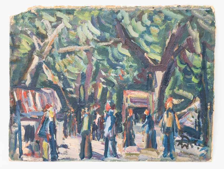 "WOLFGANG, ALEXANDER (1894-1970), ""Sunday outing"", - photo 1"