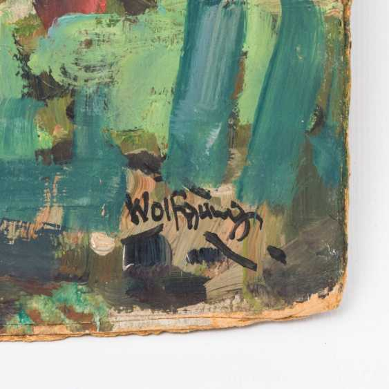 """WOLFGANG, ALEXANDER (1894-1970), """"the forest path in to the house"""", - photo 2"""