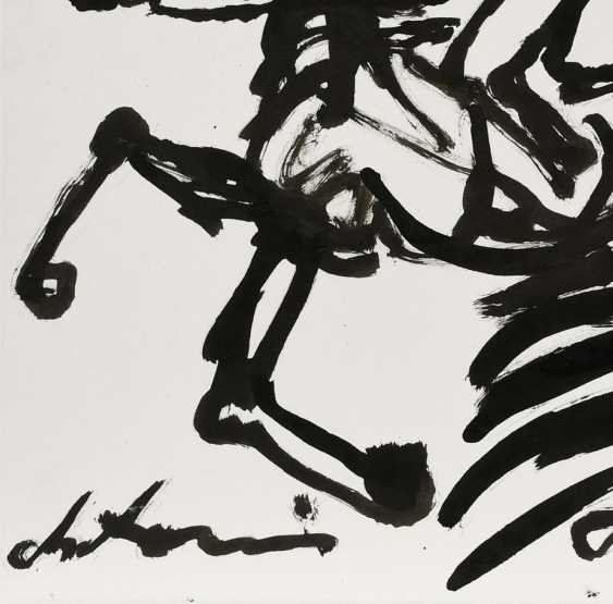 Without A Title. Group of three ink drawings - photo 4