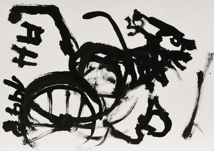 Without A Title. Group of three ink drawings - photo 9