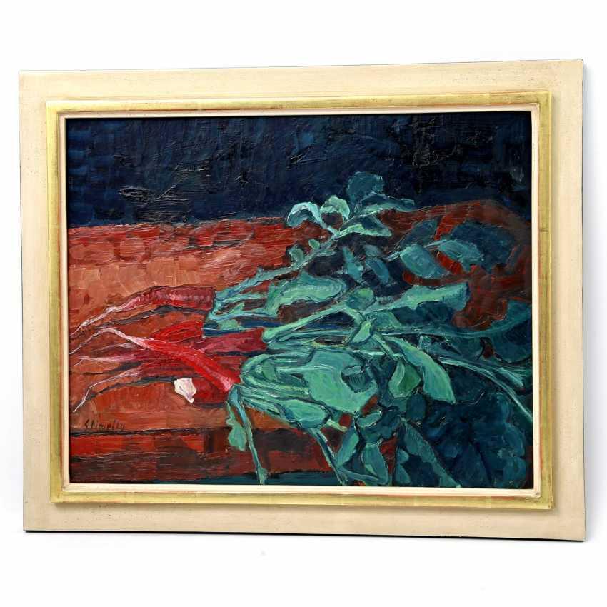 "STIMPFIG, Jürgen (born 1955 in Heidenheim, Germany), ""still life with red Radishes"", - photo 2"