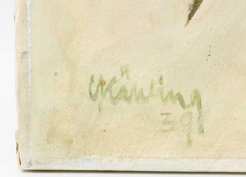 """KÄHLING, CURT (Meissen 1889-?, Pupil of the Dresden Academy), """"Blooming Lilies"""", - photo 2"""