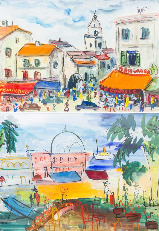 PITO (artists of the 20th century. Century), 6 Mediterranean Views, - photo 2