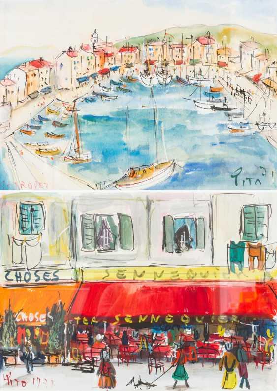 PITO (artists of the 20th century. Century), 6 Mediterranean Views, - photo 3