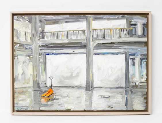 "LEIPPERT, JÜRosegoldEN (born in 1944 in Stuttgart, working at the same place), ""ZKM Karlsruhe, Germany"", - photo 2"
