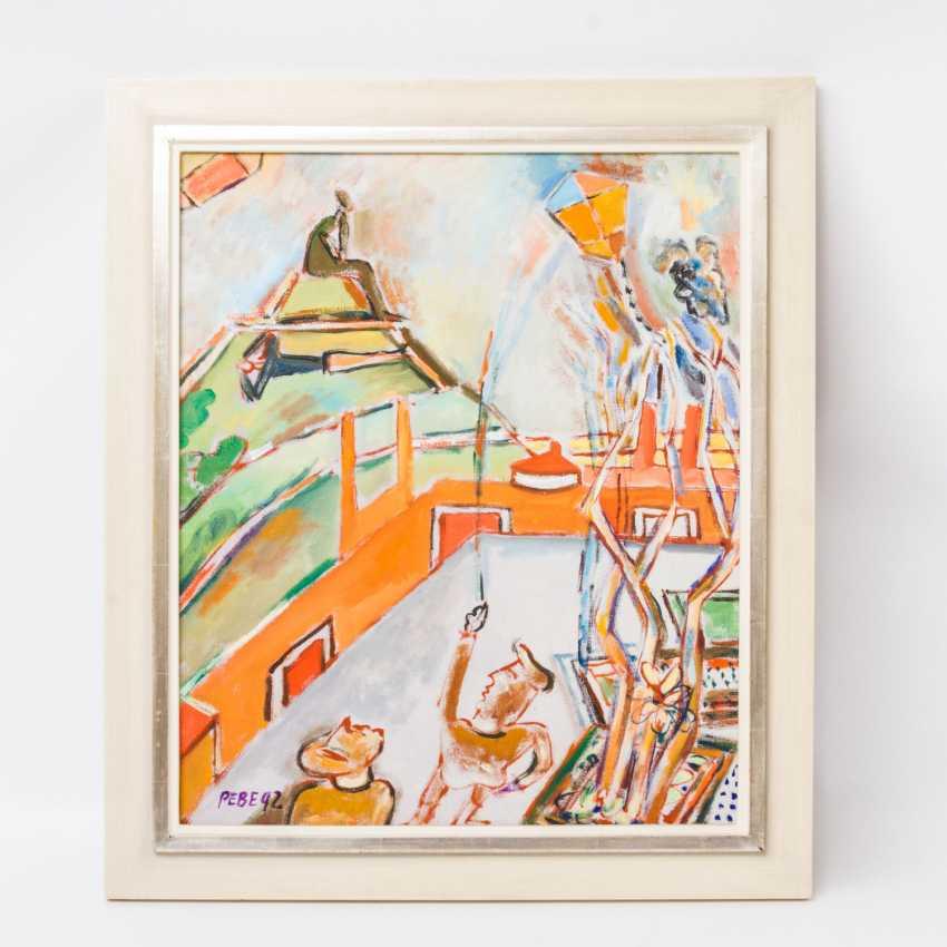 """PEBE, das isTiefe: Paul Bader (geboren 1928 in Waiblingen), """"Alb-Jeunesse"""", - photo 2"""