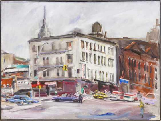 "LEIPPERT, JÜRosegoldEN (born in 1944 in Stuttgart, working at the same place), ""New York"", - photo 2"
