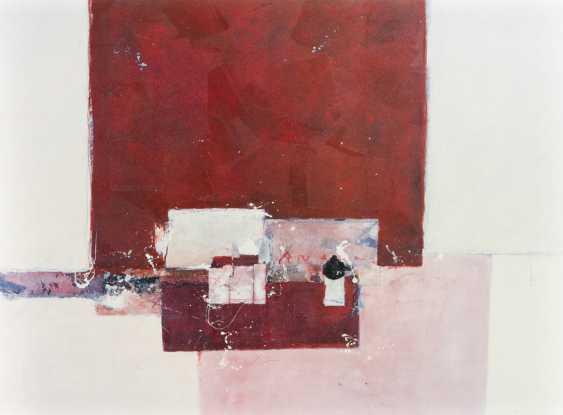 "WERF, RON VAN der (born 1958, Dutch painter), ""Without title"", - photo 1"