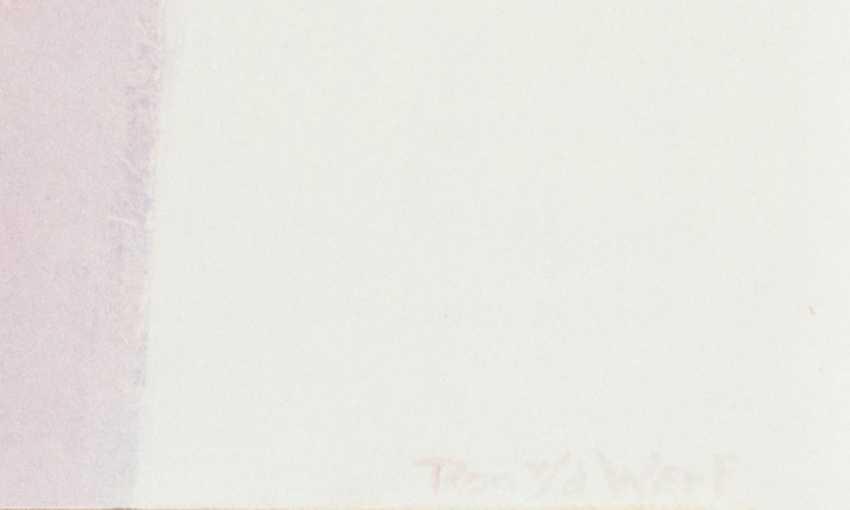 "WERF, RON VAN der (born 1958, Dutch painter), ""Without title"", - photo 2"