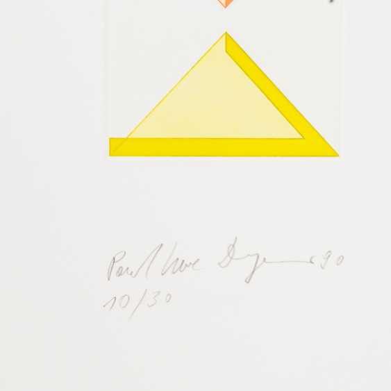 DREYER, PAUL UWE (Osnabrück 1939-2008 Stuttgart, Prof., representative of the Concrete art), - photo 2