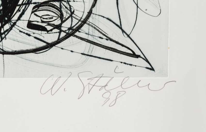 """STÖHRER, WALTER (1937-2000), """"head"""", Informal composition, - photo 2"""