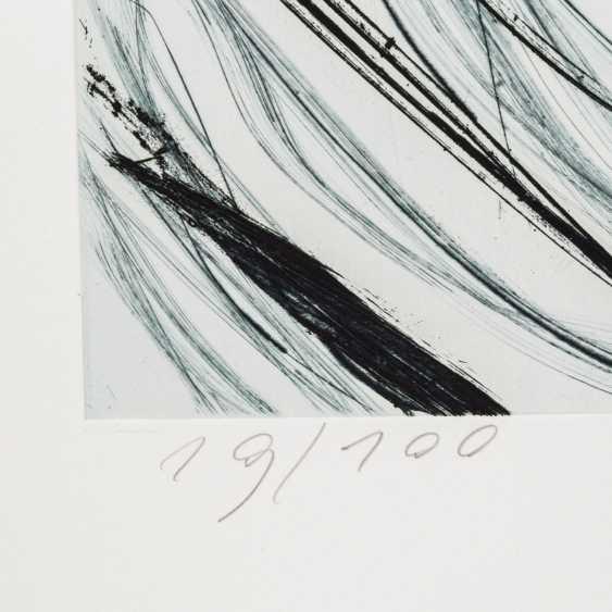 """STÖHRER, WALTER (1937-2000), """"head"""", Informal composition, - photo 3"""