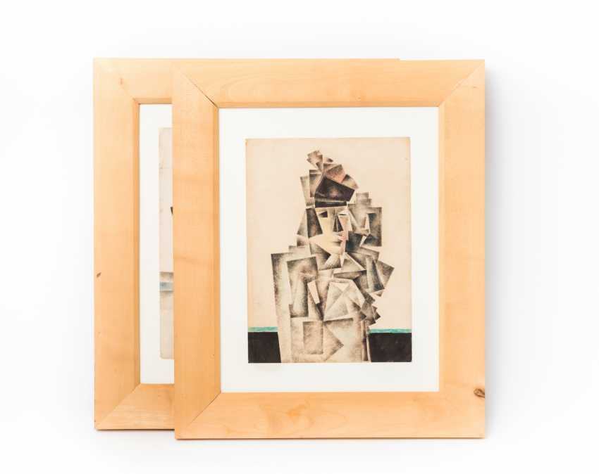 CUBIST ARTISTS, 1. Half of the 20. Century, 2 Lithographs, - photo 1