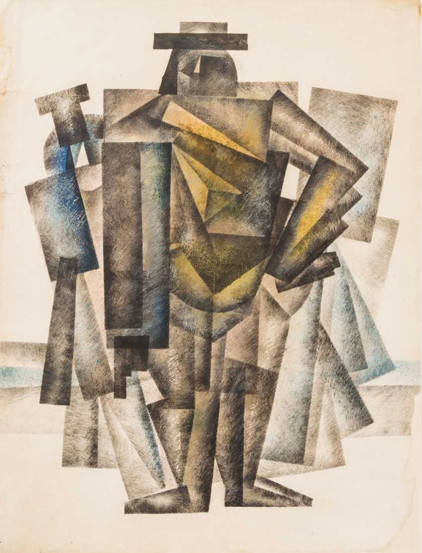 CUBIST ARTISTS, 1. Half of the 20. Century, 2 Lithographs, - photo 3