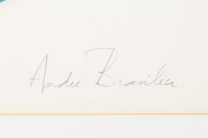 "BRAZIL, ANDRÉ (born in 1929), ""predecessor publication in an oval portion of the image"", - photo 3"