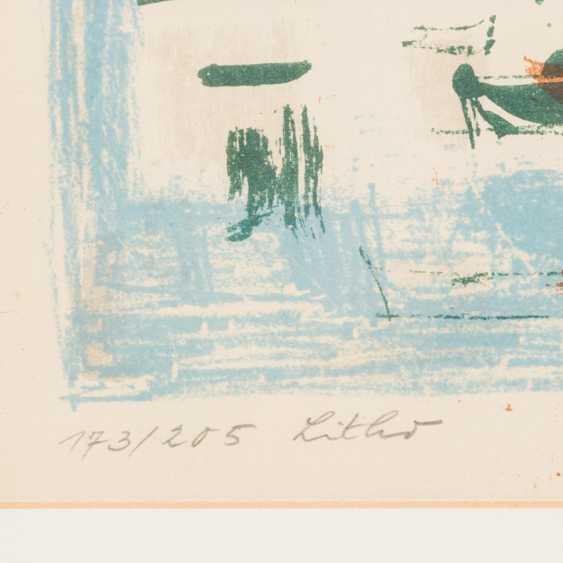 """KOLLER, OSKAR (1925-2004), """"Mediterranean port city"""", - photo 4"""