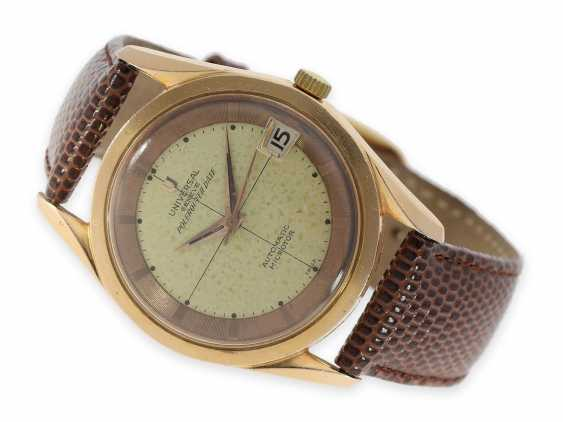 """Watch: wanted vintage Universal Geneve """"Polerouter Date Automatic"""", CA. 1965 - photo 1"""