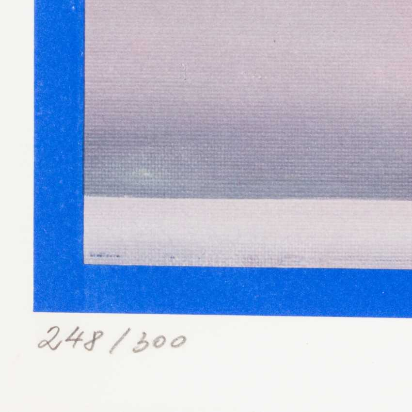 """KLOSS, MARY (born in 1940), """"Few in the harbour at the jetty"""", - photo 2"""