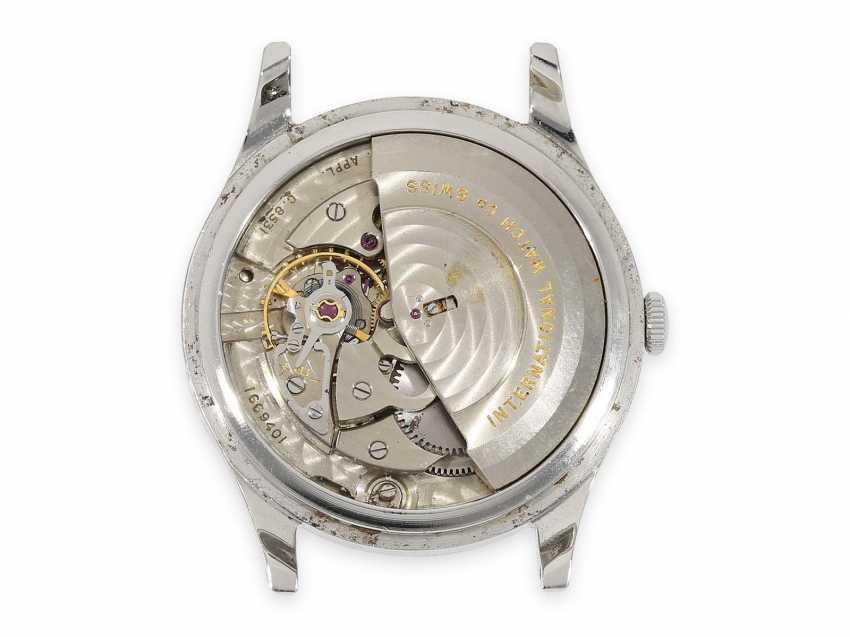 Montre-bracelet: rare, grand vintage Watch, Automatic IWC avec seconde centrale, de l'Acier, de Schaffhouse, 1963 - photo 3