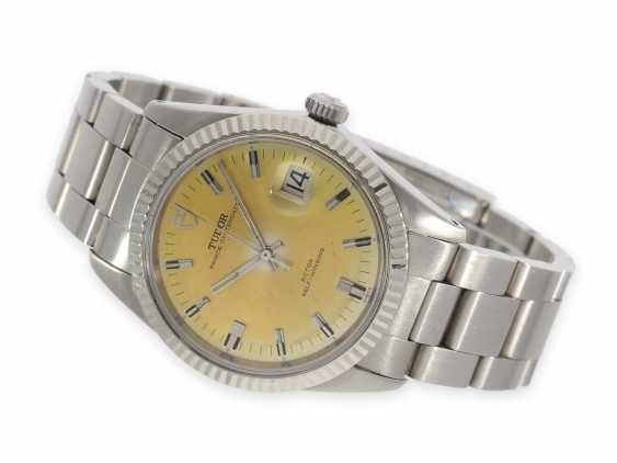 Watch: extra-large Tudor Prince oyster date, stainless steel, reference 7024, vintage, CA. 1971 - photo 1