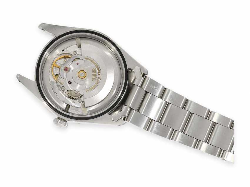Watch: extra-large Tudor Prince oyster date, stainless steel, reference 7024, vintage, CA. 1971 - photo 4