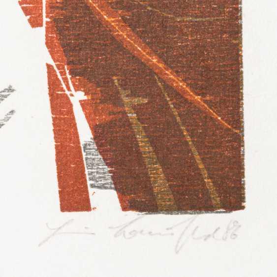 """BAUSCHERT, HEINER (1928-1986), """"Schwäbisch Gmünd"""", - photo 2"""