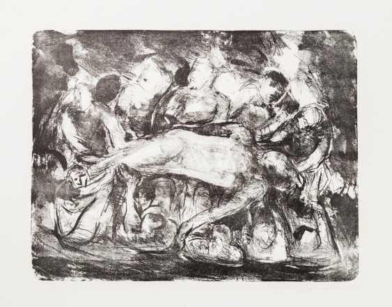 """HENNINGER, MANFRED (Backnang 1894-1986 Stuttgart, Prof.), """"group of figures"""", - photo 1"""