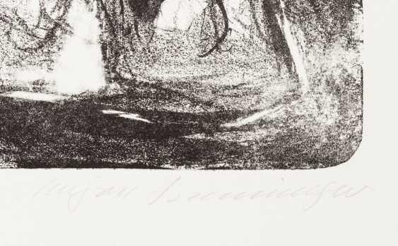 """HENNINGER, MANFRED (Backnang 1894-1986 Stuttgart, Prof.), """"group of figures"""", - photo 2"""