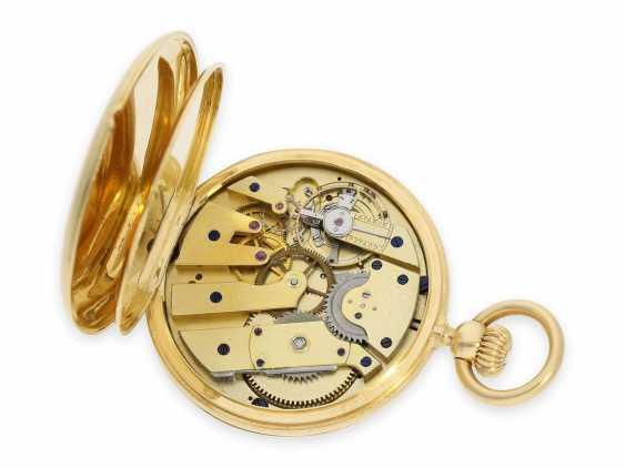 Карманные часы: исторически интересная Patek Philippe карманные часы № 7114, один из самых ранних производимых Patek Philippe Savonnetten с 1. Версия корона лифта разработана Adrien Philippe, Женева 1852 - фото 5