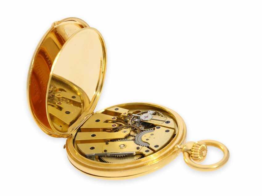 Карманные часы: исторически интересная Patek Philippe карманные часы № 7114, один из самых ранних производимых Patek Philippe Savonnetten с 1. Версия корона лифта разработана Adrien Philippe, Женева 1852 - фото 6