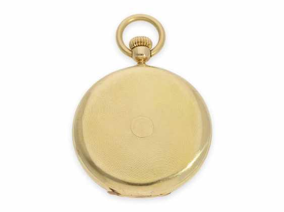 Карманные часы: исторически интересная Patek Philippe карманные часы № 7114, один из самых ранних производимых Patek Philippe Savonnetten с 1. Версия корона лифта разработана Adrien Philippe, Женева 1852 - фото 9