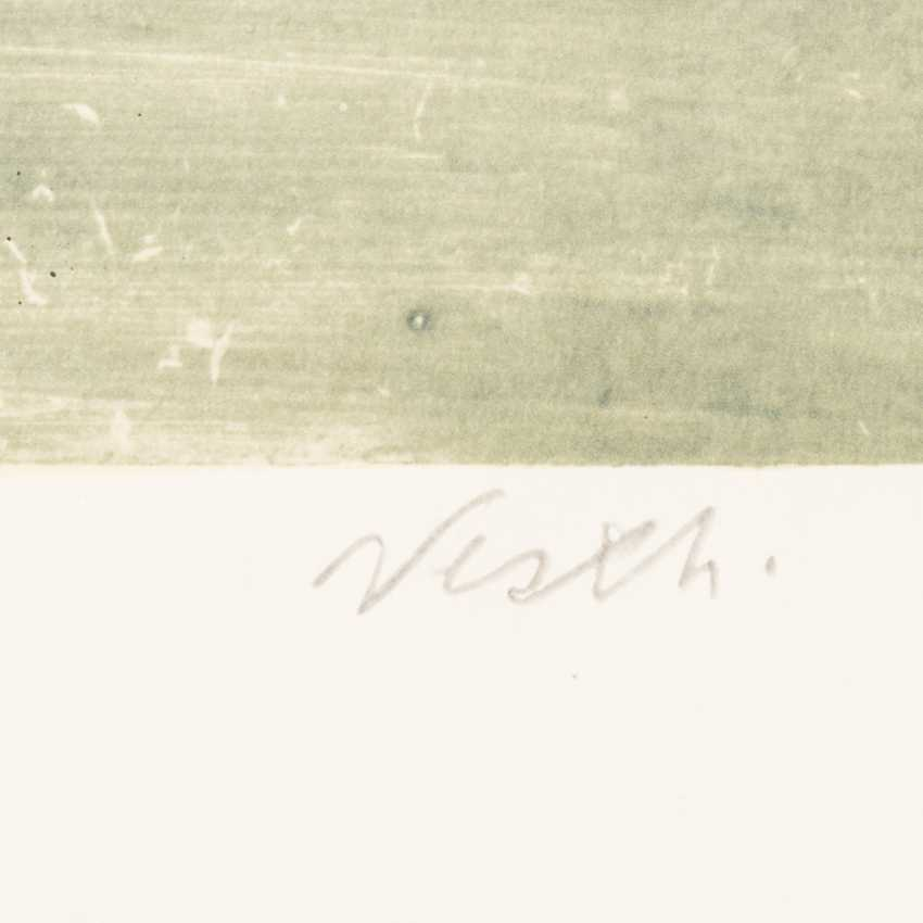 """НЭШ, ROLF (Эмиль Рудольф, верхняя Эсслинген/н. 1893-1975 Осло), """"женщина с зонтиком"""", - фото 2"""