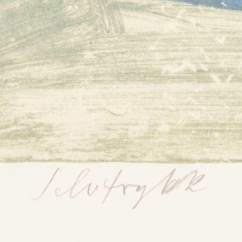 """НЭШ, ROLF (Эмиль Рудольф, верхняя Эсслинген/н. 1893-1975 Осло), """"женщина с зонтиком"""", - фото 3"""