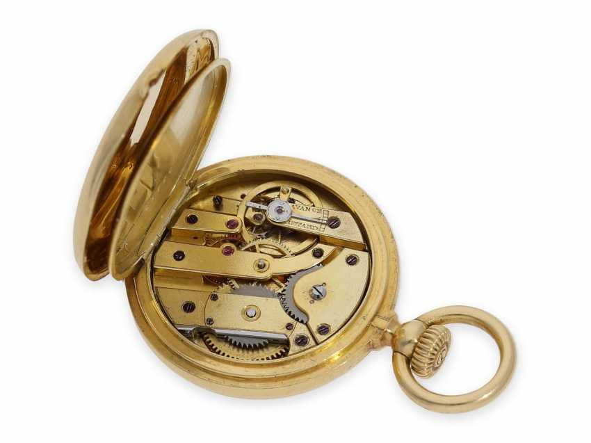 Pocket watch: the smallest known to us, Patek Philippe's half savonnette, with Gold/enamel case, No. 31335, CA. 1870 - photo 2