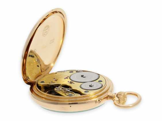 Pocket watch: heavy and large red-gold A. Lange & Söhne pocket watch with the rare calibre 45, quality 1A, CA. 1905 with the master excerpt from the book - photo 3