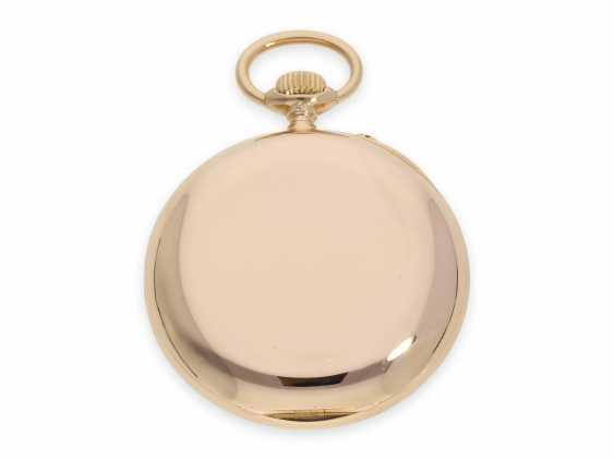Pocket watch: heavy and large red-gold A. Lange & Söhne pocket watch with the rare calibre 45, quality 1A, CA. 1905 with the master excerpt from the book - photo 5